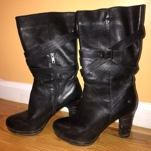 Gorgeous Ugg high heeled boots, size 9